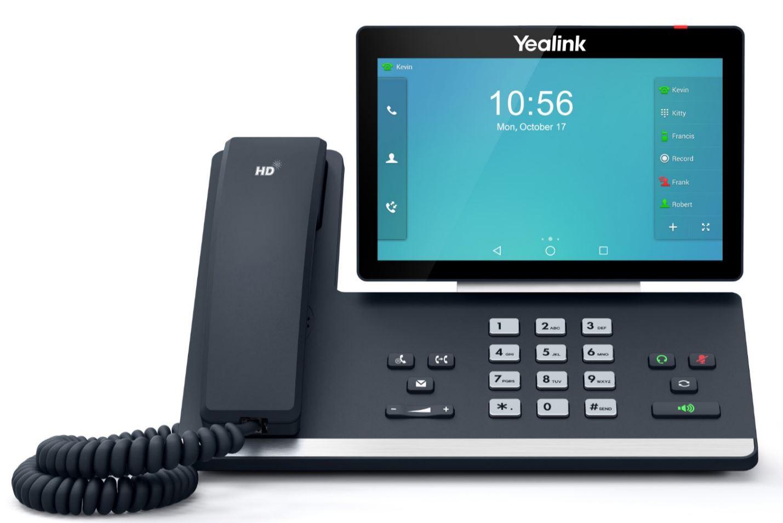Yealink SIP-T58A - Schwarz - VoIP Tischtelefon - kompatibel mit Starface