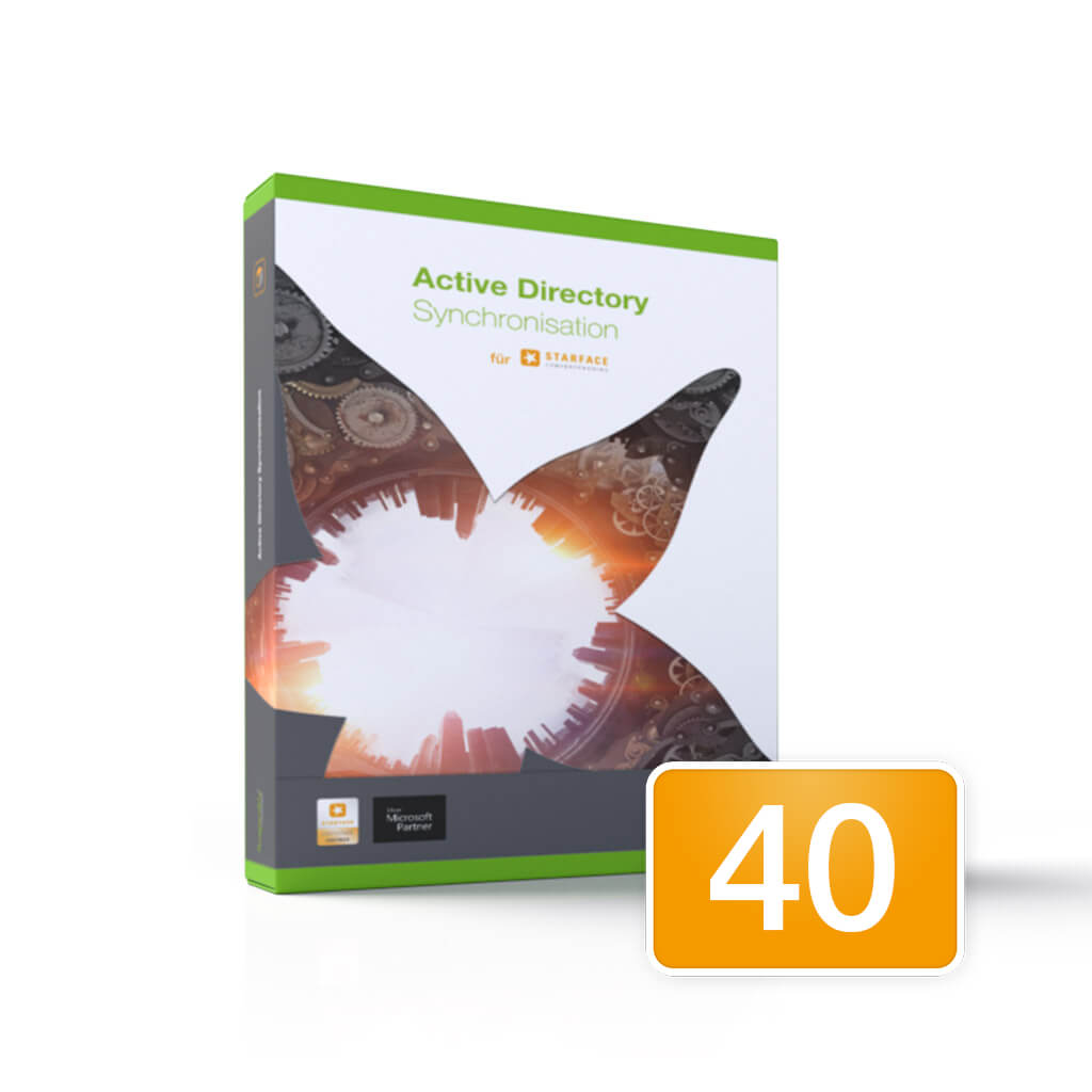 Active Directory Synchronisation / 40 Users