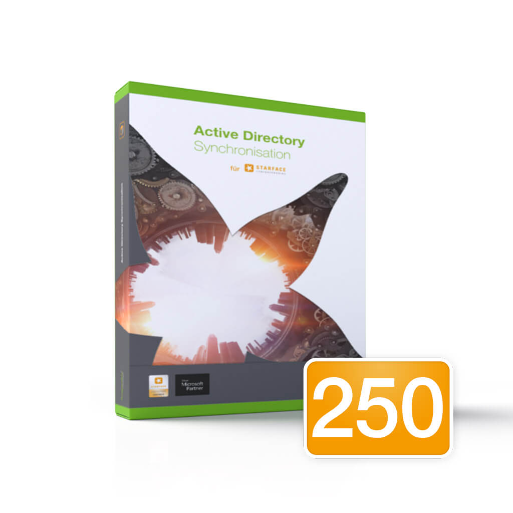 Active Directory Synchronisation / 250 Users