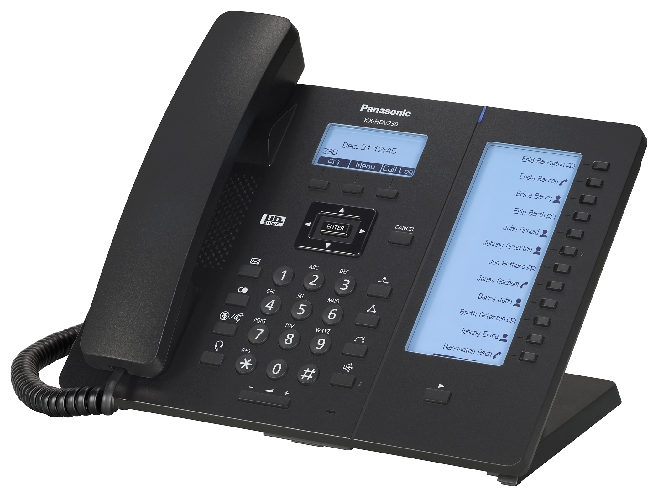 Panasonic - KX-HDV-230, schwarz