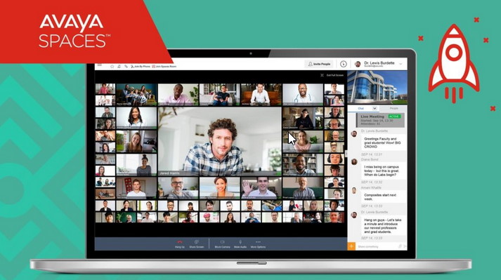 AVAYA Spaces - Videokonferenz aus der Cloud