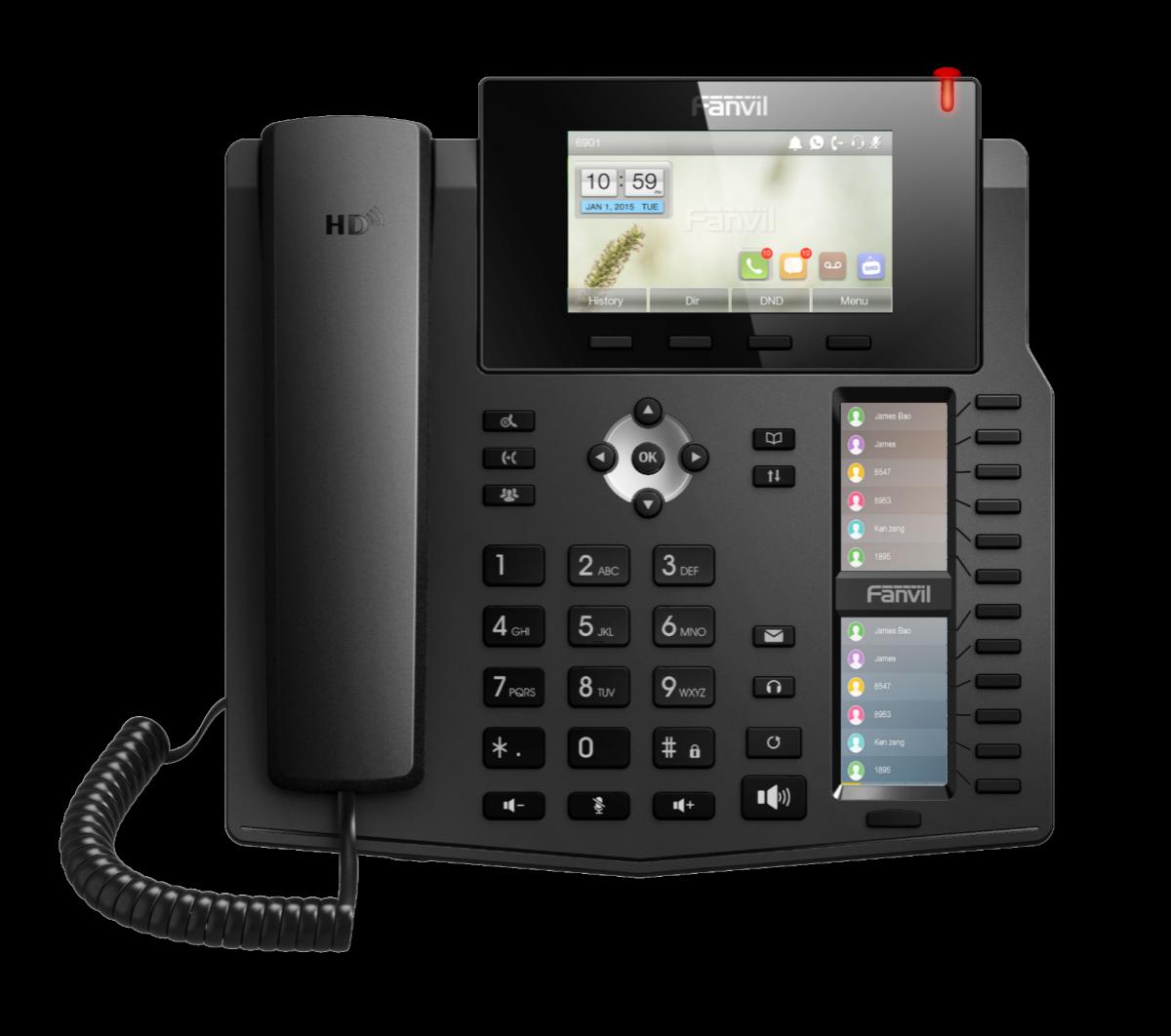 Fanvil SIP-Phone X6 *POE*Hardware: v1.2